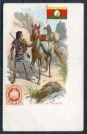 La Poste En Bolivie - Bolivia Stamp, Flag, Lama & Postman - Postal Services