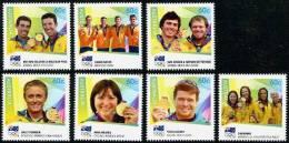 Australia - 2012 - Médailles D'or, J.O. London 2012, Australian Golden Medal  - 7v  Neufs ** // Mnh - Mint Stamps