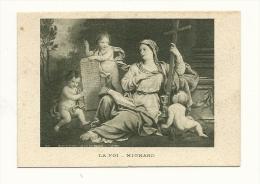 Image Religieuse, La Foi - Mignard - Images Religieuses