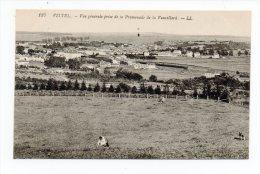 CPA 88 VITTEL Vue Générale Prise De La Promenade De Vauvillard - Vittel Contrexeville