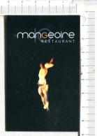 CARTONNETTE  Publicitaire  -  LA MANGEOIRE   - Restaurant  -  Millau - Placas De Cartón