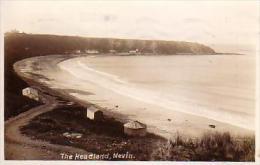 Ref L. Postcard. The Headland, Nevin - Caernarvonshire