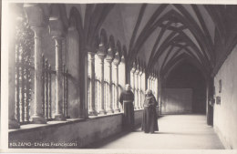 Bozen, Franziskanerkirche, Kreuzgang,  FOTO-AK Um 1925 - Italien