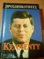 """John Fitzgerald """"Jack"""" Kennedy JFK USA President - Old Mini Book From Greece - Boeken, Tijdschriften, Stripverhalen"""