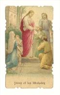Image Religieuse, Jésus Et Les Malades - Images Religieuses