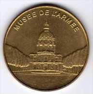 Arthus-Bertrand : Médaille Des Musées Et Châteaux De France : Musée De L'Armée - Arthus Bertrand