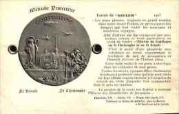 Médaille - Protectrice St Benoit St Christophe (1908) - Schöne Künste