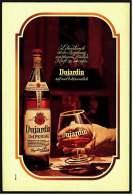 Reklame  -  Dujardin Weinbrand  -  Lebenskunst Ist Die Begabung  -  Werbeanzeige Von 1971 - Alkohol
