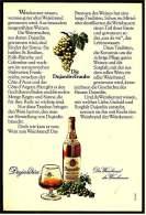 Reklame  -  Dujardin Weinbrand  -  Der Weinbrand Der Weinkenner  -  Werbeanzeige Von 1972 - Alkohol