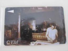 Macau GPT Magnetic Phonecard,17MACC Traditional Paper Making In Temple,used - Macau