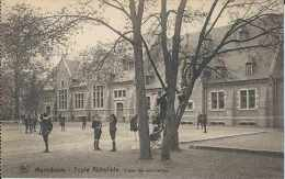Maredsous - Ecole Abbatiale - Cour De Récréation - Ed Nels Sans Date - Pas Circulé - Dos Séparé - Animée - TBE - Anhée