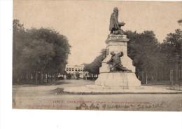 ASIE---COCHINCHINE----SAIGON----place Et Statue Gambetta--voir 2 SCANS - Viêt-Nam