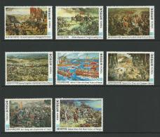 1979/1982 Documentary Paintings Set Of 8 Complete MUH SG Catalogue  No´s 1521/1522, 1523/1524, 1537/1538 & 1548/1549 - Korea, South