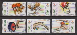 Indonesia Indonesie 2074-2079 MNH  Olympiade Zegels Olympic Games Les Jeues Olympiques Los Juegos Olimpicos 2000 Sydney - Zomer 2000: Sydney