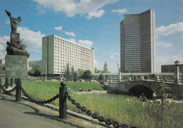 ZS46406 View Of The Cmea Building  Moscow      2 Scans - Russia