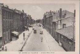 CPA:Bourg-les-Valence:Avenue Marc-Urtin - Autres Communes