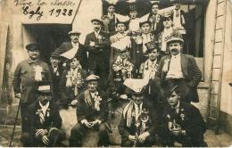 Egly (91) Carte Photo - Classe 1928 - Autres Communes