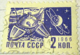 Russia 1966 Luna 9 And Moon 2k - Used - Used Stamps