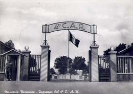 Montorio Veronese - Ingresso Del 4 C.a.r. - Formato Grande Viaggiata - Barracks