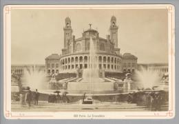 Foto ~1890 France Paris Le Trpcadeéro #323 - Photographs
