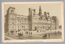 Foto ~1890 France Paris Facade De L'Hôtel De Ville #281 - Photos