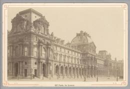 Foto ~1890 France Paris Le Louvere #197 - Photos