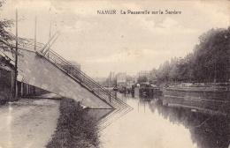 NAMUR   La Passerelle Sur La Sambre - Namur