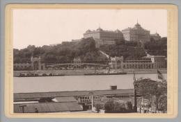 "Foto ~1887 Ungarn Budapest Kir #2238 ""Römmler & Jonas"" - Photos"