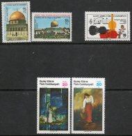 Cyprus - Turkish Cypriot Posts 1980-85 - 3 X MNH Sets SG101-2, 165 & 176-7 Cat £4.50 SG2015 - See Full Description Below - Cyprus (Turkey)