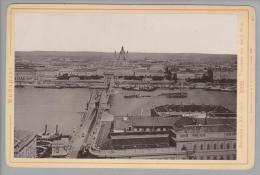 """Foto ~1893 Ungarn Budapest I #2221 """"Rommler & Jonas"""""""" - Photos"""