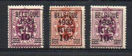 Belgique - COB N° 375a/76 - Charnière - Belgique