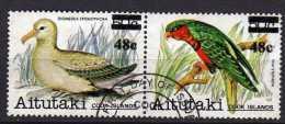 Aitutaki Scott N°  303.304   Oblitéré Année 1983   (201) - Aitutaki