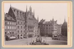 """Foto ~1891 DE Bay München  Das Rathaus #1177 #1177 """"Römmler & Jonas"""" - Photos"""