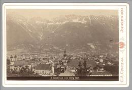Foto ~1890 AT Jnnsbruck Vom Berg Isel C.A.Czichna #5 - Fotos