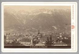 Foto ~1890 AT Jnnsbruck Vom Berg Isel C.A.Czichna #5 - Photos