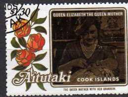 Aitutaki Scott N°  376  Oblitéré Année 1985  (208) - Aitutaki