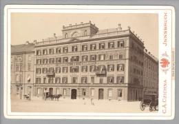 Foto ~1890 AT Jnnsbruck Hotel Europe C.A.Czichna - Anciennes (Av. 1900)