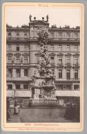 """Foto ~1892 AT Wien Dreifaltigkeitssäule #2039 """"Römmler & Jonas"""" - Photographs"""
