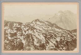 """Foto ~1890 CH GL Aussicht Vom Mürtschenstock """"Ruchen"""" """"Jean Brascher Wetzikon"""" - Photos"""