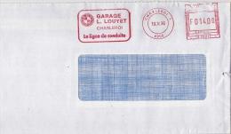 EMA Freistempel : Charleroi, Garage Louyet BMW 1990 - Coches