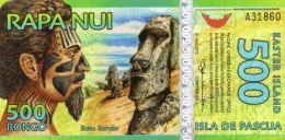 ILE DE PAQUES : 500 Rongo 2011 (unc) - Osterinsel (Rapa Nui)