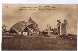 Zeebrugge - 8 De La Guerre- Le Chateau D'eau Et Abri Boche - Zeebrugge