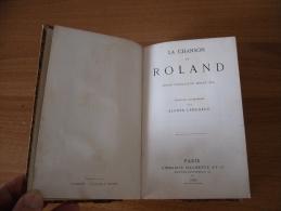 Libro La Chanson De Roland 1879 Lingua Francese Pagine 369. - Libri, Riviste, Fumetti