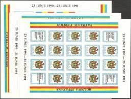 Moldova  1991  MNH**  -  Yv. 1/3  M/Sheet 16x - Moldavia