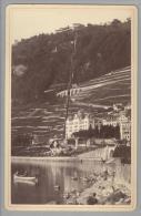 """Foto ~1890 CH VD Montreux """"C.Marmillod"""" - Photos"""