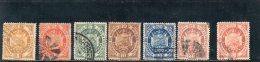 BOLIVIE 1894 Y&T NR. 39-45 O - Bolivia