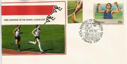 AUSTRALIE.  Course De Stawell, Depuis  1878, Chaque Annee (Victoria). Un Entier Postal (centenaire) - Postmark Collection