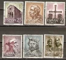 EDIFIL 1394/9 USADOS - 1931-Today: 2nd Rep - ... Juan Carlos I