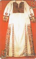 PALESTINE(chip) - Traditional Dress, 07/99, Used - Palestina