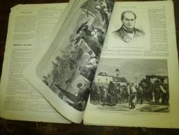 1871  LE MONDE ILLUSTRE :Révolution ;Porte D´Orléans; Reste à Manger Chiens,chats,rats Et Les Animaux Du Zoo; Famine - 1850 - 1899